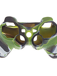Silicone Case Cover for PS3 Controller (Camouflage Color)