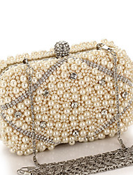 L.WEST® Women Casual / Event/Party / Wedding Polyester Kiss Lock Evening Bag
