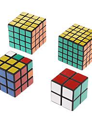 Estabelecer novos de Shengshou 2x2 3x3 4x4 5x5 preto torção de quebra-cabeça da Primavera velocidade cubo mágico