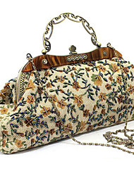 Moonflower Retro Flower Hand Bag