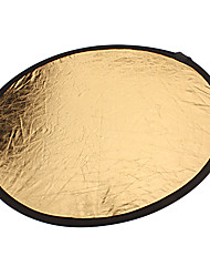 Free Shipping New Collapsible Light Round Photography Reflector for Studio or Outdoor(110cm)