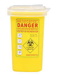 Sharps Collector 1L Yellow
