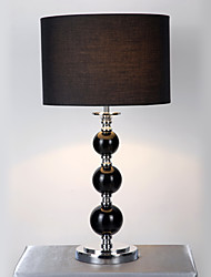 Modern Fabric Table Light - Cylindrical Lampshade