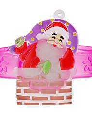 Kinder Weihnachtsmann Stil Lila Bands Spielzeug mit LED