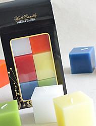 tealight votiva perfumada com 6pcs caixa de presente set
