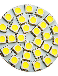 5W G4 Spot LED 30 SMD 5050 160-180 lm Blanc Froid AC 12 V