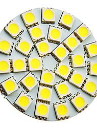 5W G4 Точечное LED освещение 30 SMD 5050 160-180 lm Холодный белый AC 12 V
