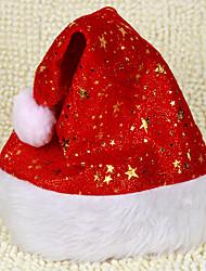 Brillant Golden Stars Velvet Noël Hat