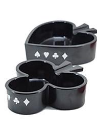 Forma moderna de Poker Cinzeiro-2 Cores Disponíveis