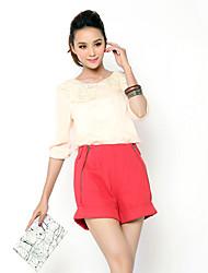 Women's Casual Shirts , Polyester Casual Unifo Show