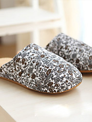 Casual Brown and Gray Petal Man's Slid Slippers