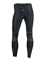 SANTIC Cycling Pants Men's Bike Tights Pants/Trousers/Overtrousers Bottoms Thermal / Warm Windproof Anatomic Design Wearable High