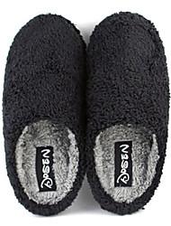 Zapatillas deslizó Casual de la mujer Fuzzy - dos colores disponibles