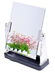 "10 ""H Classic Rectangle tafelblad Metal Mirror"