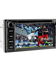 6.2inch 2 din universele auto dvd-speler voor toyota vóór 2006 met gps, ipod, rds, bt, tv, touch screen