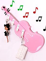 """8 """"Criativo Violin estilo cabide (4 Ganchos)"""