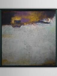 Abstracte Flood Ingelijst Olieverf