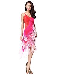 Dancewear viscosa Latin vestito da ballo per le signore (più colori)