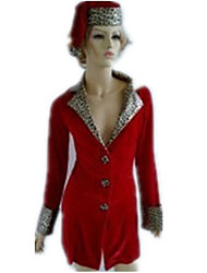 Selvagem menina do leopardo Christmas Costume