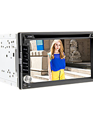 6.2Inch Universal 2 DIN In-Dash Car DVD player with GPS,BT,IPOD,DVB-T,RDS,Touch Screen