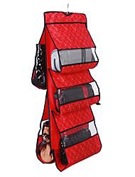 5 sacos amo o coração do Bolsa Organizador Desligar Double-Sided