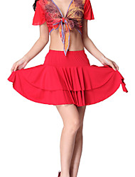 Dancewear Viscose Dance Skirt For Ladies