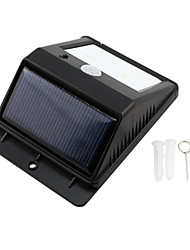4-LED Солнечные PIR датчик напольный свет