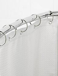 Shower Curtain Ganci, di alta classe moderna rotonda d'argento (12 pack)