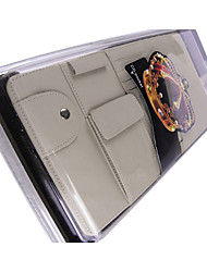 Fashion Genuine Leather CD Storage Wallet - 3 Colors Avaliable