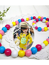 Girl's Candy Color Jewelry Set (Necklace&Bracelet)(Random Color)