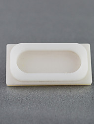 Rectangular porcelain white acrylic snack plate for Ants