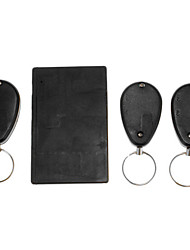 Anti-Lost Alarm RF Credit Card Size Wireless Super Electronic Key Finder with 3 x Receivers