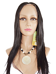 16inch Yaki Straight Brazilian Remy Hair Lace Front wig