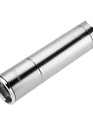 Torce LED / Torce LED 3 Modo 100 Lumens Impermeabili Cree XR-E Q5 AA Campeggio/Escursionismo/Speleologia - SmallSun , ArgentoLega di
