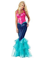 YYJ Women's  Christmas Party Merman Princess Costume Suit
