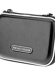 Carrying PU Leather Case Bag for Nintendo 3DSLL/3DSXL (Black)
