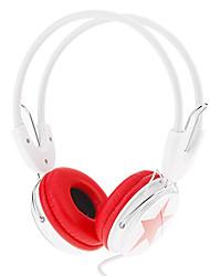 Fashional Wired 3.5mm On-ear Hi-Fi Stereo Music Headphone