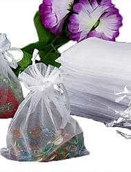 Bolsas de Jóias Tecido Branco