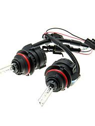 Car 9007-3 HID xénon ampoules Lampes AC / DC 12V35W (4300-12000K facultatif)