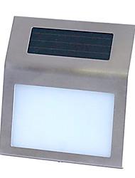 Outdoor zonne-energie RVS 2 LED Wit Licht voor Doorplate (CIS-57212)