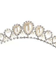Women's Rhinestone / Alloy / Imitation Pearl Headpiece-Wedding / Special Occasion Tiaras