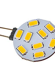 Faretti LED 9 SMD 5730 G4 2.5 W 120-150 LM Bianco caldo V