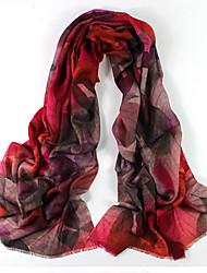 Meizhi Женская Непал Импорт Чистая шерсть 200 * 70см розовый шарф