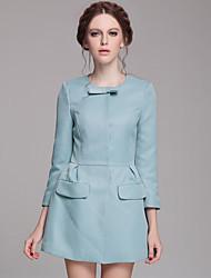 La simplicité des femmes arc robe de Porket col rond