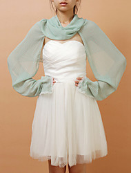 Sweet Chiffon Casual/Party Scarf/Poncho (More Colors)