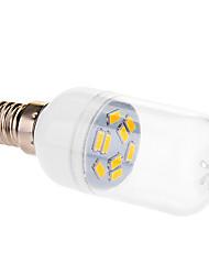 4W E14 Ampoules Globe LED 9 SMD 5630 290 lm Blanc Chaud AC 100-240 V