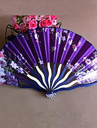 Fan Floral Polipropileno de fibra Mano - Juego de 4 (color al azar)