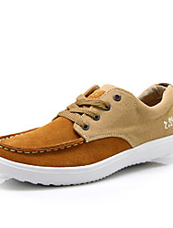 Segeltuch-Männer Casual Fashion Sneakers mit Split Joint