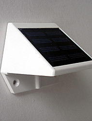 4-LED de luz branca LED Solar Light