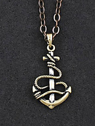 The Anchor of The Sea Alloy Gothic Lolita Necklace